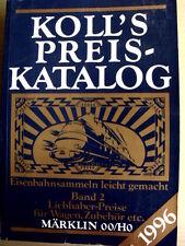 KOLL'S Preis Katalog scala OO HO - 1996 parte 2 - [TR.28]