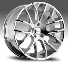 "22"" INCH GIOVANNA KILIS WHEELS MERCEDES S550 CL550 RIMS STAGGERED CHROME"