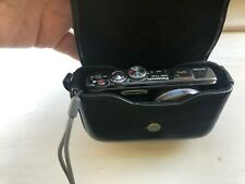 Panasonic Lumix Leather Camera Case DMW-PHH13 For Lumix TZ & DMC-TZ models