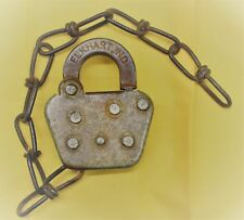 KELINE Switch Lock - AT & SF - SANTA FE Railroad - Used Condition