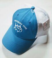 Southern Tide Skipjack Twill Trucker Snapback Hat - Cobalt Blue - One size - NWT