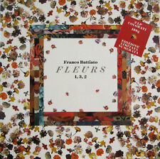 "FRANCO BATTIATO ""FLEURS 1,3,2 "" box 3 lp colorati + book ediz.. numerata nuovo"