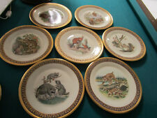 Boehm Collector Plates Woodland Wildlife By Lenox 1976s- Pick One -8 Motives