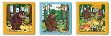 The Gruffalo Kids canvas wall art plaque pictures set of three