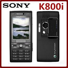 Sony Ericsson K800i K800 BLACK Unlocked 3G GSM Tri-Band 3.2MP Camera Smartphones