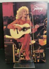 More details for vintage jammy wynette with tomfoolery souvenir concert programme