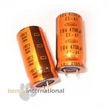4x 4700uF 10V 105°C ELECTROLYTIC CAPACITOR Radial - AUS STOCK