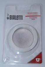 Bialetti Ersatzteilset Dichtung und Filter für Espressokocher Aluminium 9 Tassen