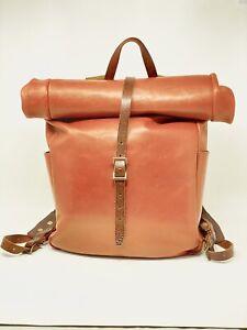 WP Standard Whipping Post Leather Full Grain Roll Top Backpack Original Design