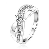 """Bague argent """"X Cristal Ring"""" - Envoi de France Immédiat"""