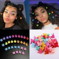 20*/Set Fashion Butterfly Hair Clips Mini Hairpin Women -Girls Cartoon Claw Clip