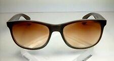 "Ray-Ban RB 4202 BROWN ""ANDY"" 55[]17 3N Eyeglass/Sunglass Frames, $39.99"