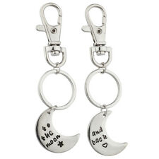 Celestial Bff Best Friends Keychain Set. Lux Accessories To The Moon & Back