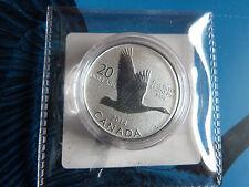 2014 $20 for $20 Silver Goose Coin, 1/4 oz .9999 silver w/original mint COA