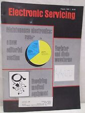 Electronic Servicing Magazine August 1979 Repairing Medical Equipment Waveforms