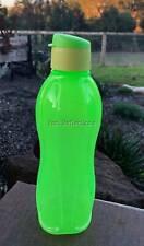 TUPPERWARE ECO DRINK WATER BOTTLE NEON LIME GREEN 1L