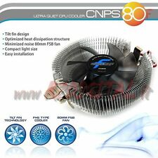 DISSIPATORE ZALMAN CNPS80F CPU AMD INTEL 1150 1151 AM2 AM3 FM1 FM2 940 939 754
