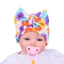 Fashion Newborn Baby Infant Girl Toddler Comfy Bowknot Hospital Cap Beanie Hat