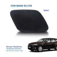 Right Bumper Headlight Washer Spray Nozzle Cover Cap Jet Fits BMW X5 E70 35i