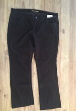 """Old Navy Dark Brown """"SWEETHEART""""  Boot Cut Classic Rise Stretch Corduroys 18 R"""