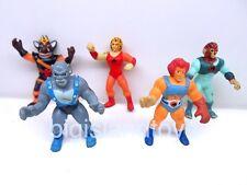 """Thundercats Kidworks 2"""" Mini Figures Lion-O Cheetara Panthro Ratar-O & Tygra"""