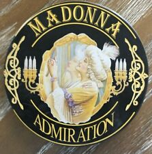 MADONNA WITH OTTO VON WERNHERR -ADMIRATION- 1993 GERMANY METAL TIN CD POP