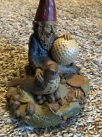BIRDIE gnome - Tom Clark #46, 1983 Golf. Cairn Studio