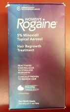 Rogaine Women's 5% Minoxidil Foam 4-month Supply Free Shipping NEW IN THE BOX