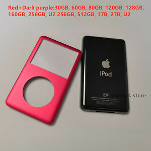 Apple iPod Classic Red Front Cover +Dark purple Back Cover Thin+ Tools