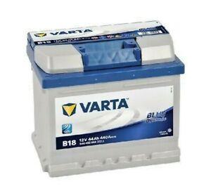 VARTA Blue Dynamic Autobatterie/Starterbatterie, 12V 44Ah B18 | 544402044
