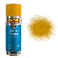 x6 Hycote® 400ml Yellow Filler Primer Aerosol Car Spray Paint Acrylic Formula