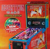 Led Zeppelin Pinball FLYER Art Print Hard Rock Music Limited Edition Angel Stern