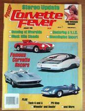CORVETTE FEVER 1988 JAN - GTP AT RIVERSIDE, VIN WOES