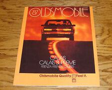 Original 1987 Oldsmobile Calais Supreme Firenza Cruiser Sales Brochure 87