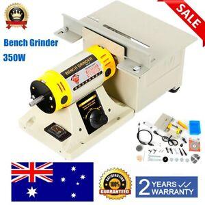 Multifunctional Mini Bench Lathe Machine Electric Grinder Polisher Driller 350W