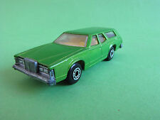 Matchbox Lesney Superfast No 74 Mercury Cougar Villager Made In England 1978