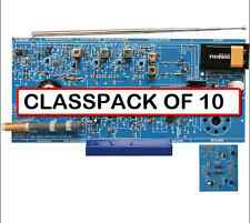 (CLASSPACK OF 10) ELENCO AMFM-108CK AM/FM Radio Kit and Training Course