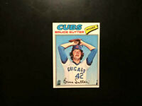 1977 Topps Baseball BRUCE SUTTER Rookie Card #144 CHICAGO CUBS HOF RC-NM+