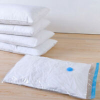 Zippered Vacuum Space Saver Bag for Storage, Travel & Closet Organization C