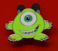 Small Used Disney Enamel Pin Badge Mike Character Monsters Inc