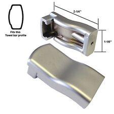 Sterling by Kohler Shower Door Towel Bar Brackets - Matte Silver