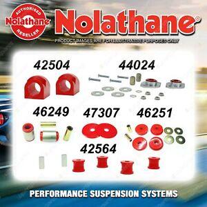 Rear Nolathane Suspension Bush Kit for BMW 3 SERIES E46 4/6CYL 10/2001-2005