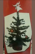 "Disney Tim Burton's ""The Nightmare Before Christmas"" Decorated Tree w/ Jack Zero"