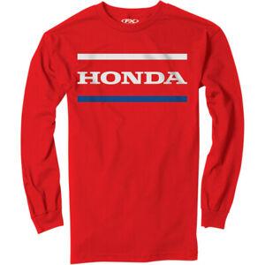 Factory Effex Honda Stripes T-Shirt (Red) XL