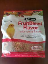 Zupreem Fruit Blend X Small Canary Finch Diet bird Food 2lb