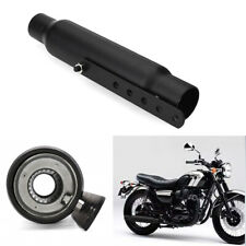 """12"""" Motorcycle Exhaust Pipe Short Exhaust Tip Rear Tail Tube For Harley Custom"""