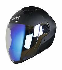 Steelbird Air Sba-2 Full Face Motorcycle Matt Black Night Vision Visor Helmet-L