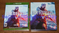 Battlefield V 5 with Limited Edition SteelBook (Xbox 1 One) BRAND NEW SEALED xb1
