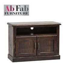 COBAR TV ENTERTAINMENT UNIT FULLY CONSTRUCTED LOW LINE LOWLINE TIMBER SMALL
