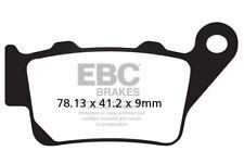 Pour BMW F 650 (E169 / 0162/Funduro/ Haut Scr 97>00 EBC Fritté Set Plaquettes